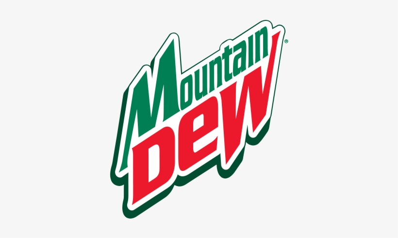 Mountain Dew Logo 90s - Mountain Dew Code Red Soda, Diet - 12 Pack, 12 Fl Oz, transparent png #1125123