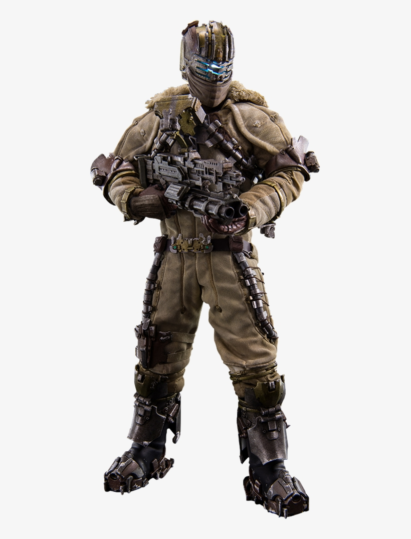 Isaac Clarke Snow Suit Version Sixth Scale Figure Http - Dead Space 3 1/6 Scale Action Figure Isaac Clarke, transparent png #1127079