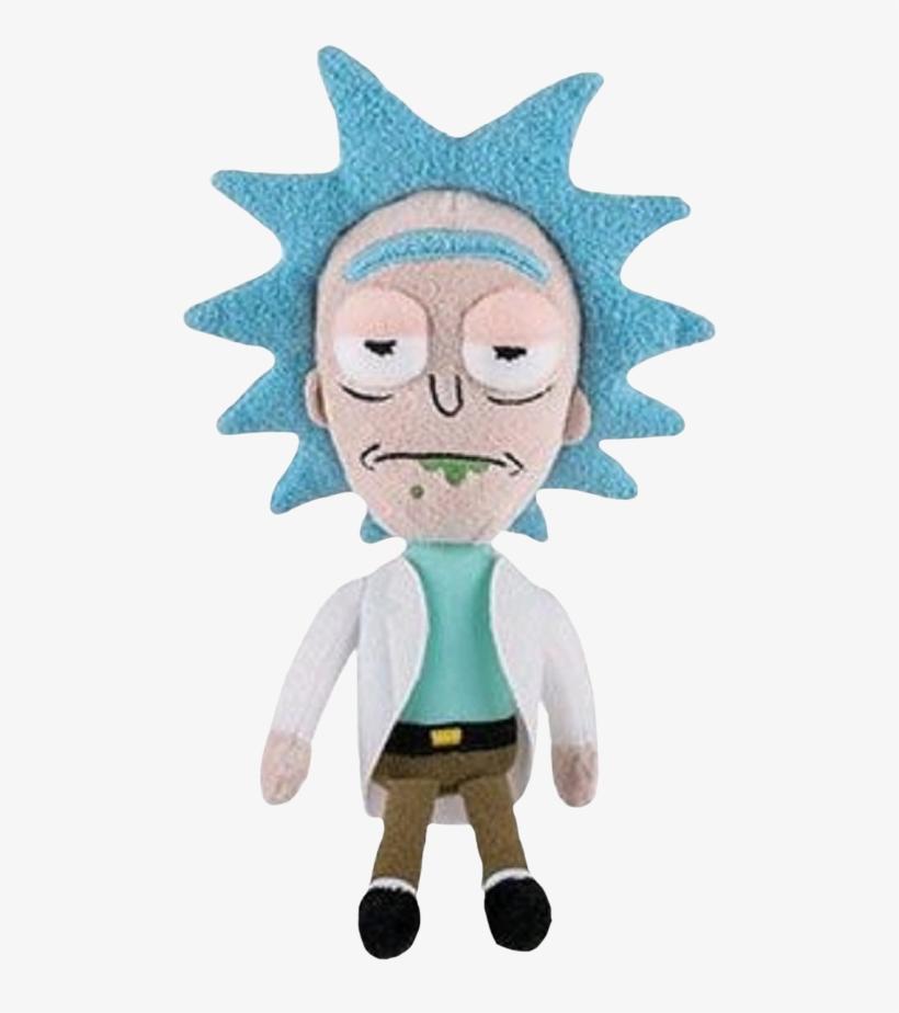 Rick - Rick And Morty - Rick Plush, transparent png #1129163