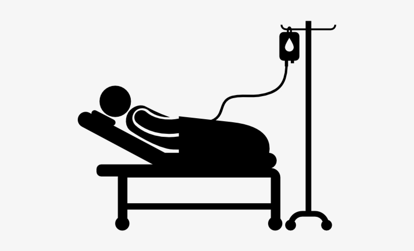 Genial Hospital Bed Clipart Black And White   Hospital Bed Clipart Patient