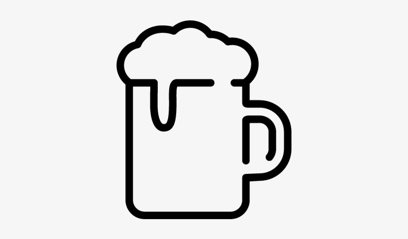 Jar Of Beer Vector - Welcome To Happy Hour, transparent png #1129539