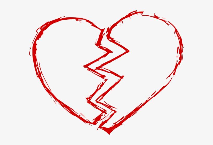 Broken Heart 2 - Broken Heart Png, transparent png #1132112