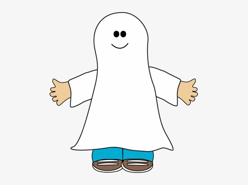 Halloween Kid Ghost Clip Art - Ghost Costume Clip Art, transparent png #1132530