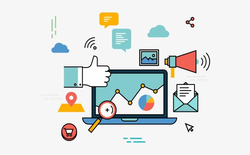 digital marketing vector png free transparent png download pngkey digital marketing vector png free