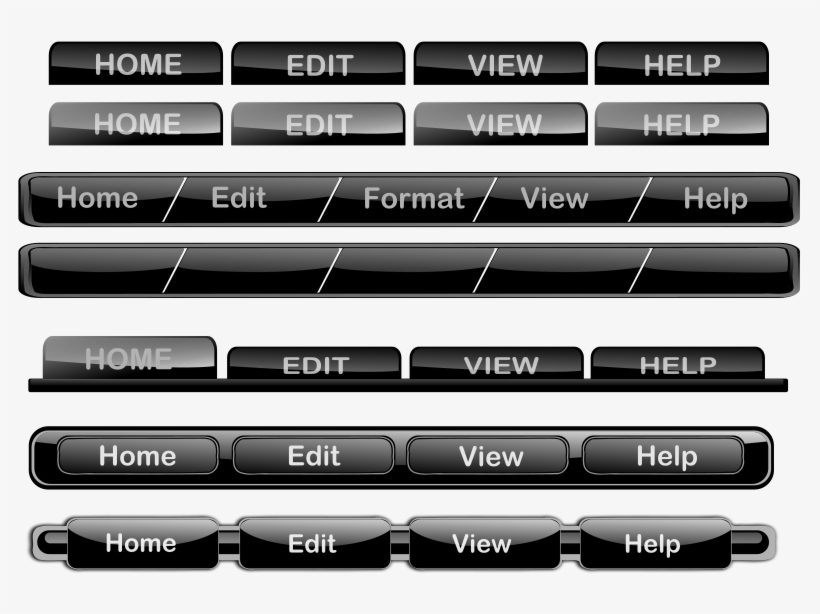 Button Clipart Website Png - Web Page Buttons Png, transparent png #1133248