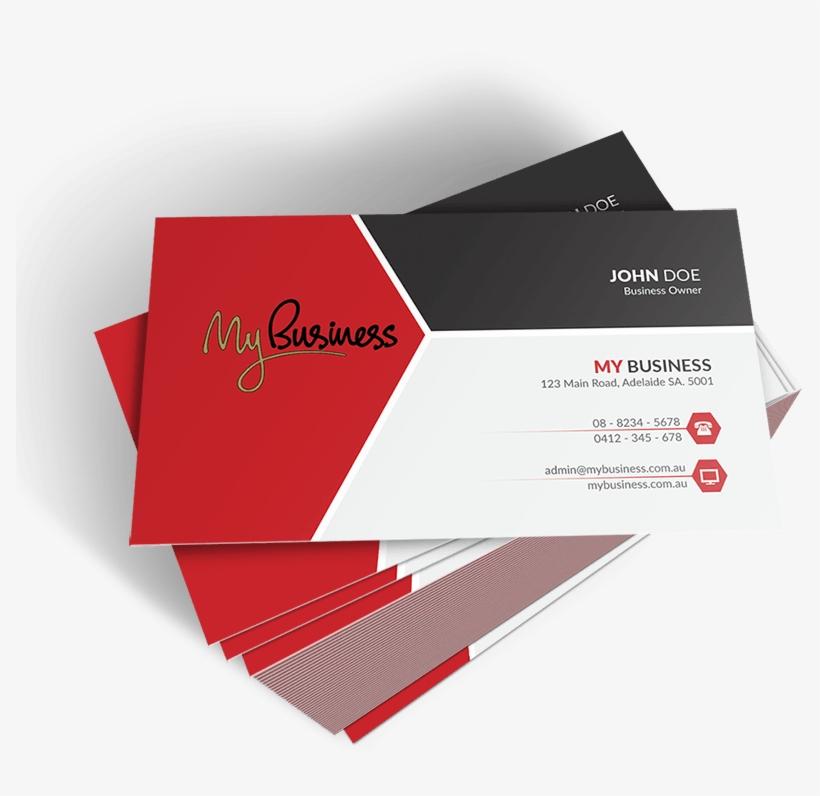 Business Card Design Png - Business Card Of Admin, transparent png #1133301