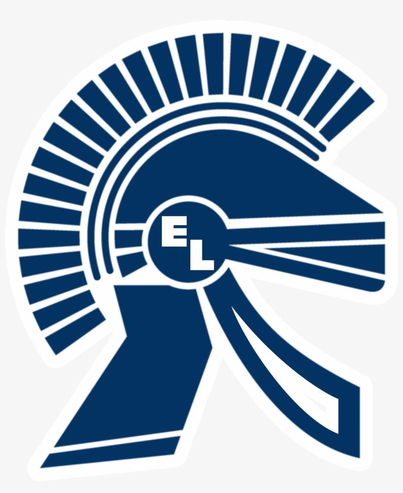 Trojan Clipart East Central - East Lansing High School Logo, transparent png #1133445