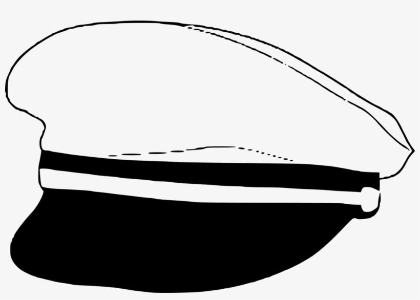 db32a6adf8e Hat Sea Captain Tricorne Headgear - Captain Hat Clipart - Free ...