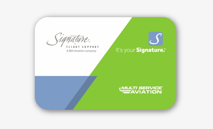 The Signature Flight Support Multi Service Aviation - Signature Flight Support, transparent png #1133766