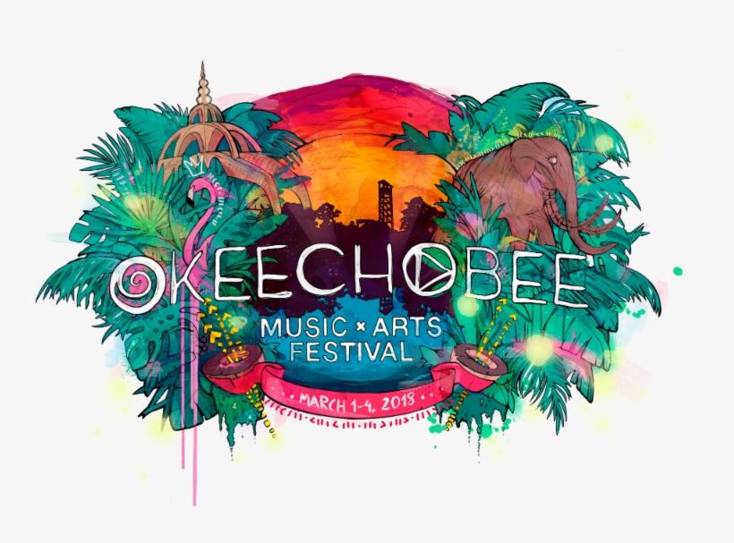 Okeechobee Music & Arts Festival Announces 2018 Lineup - Okeechobee Music Festival Logo, transparent png #1135949