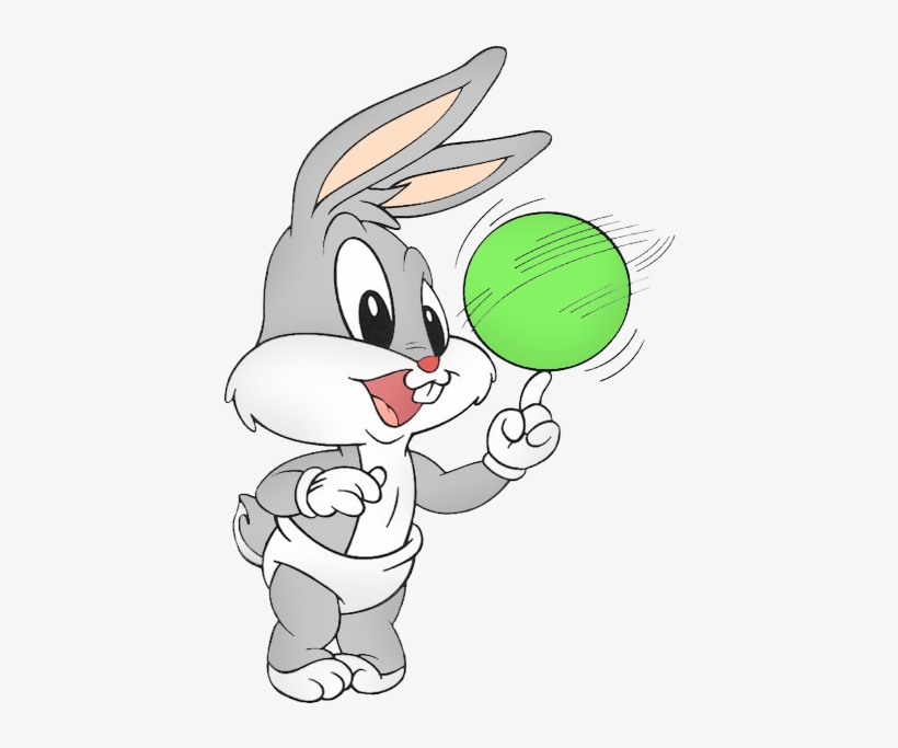Pin By Manu Komers On Cotillon Tematico - Baby Looney Tunes Pernalonga, transparent png #1136624