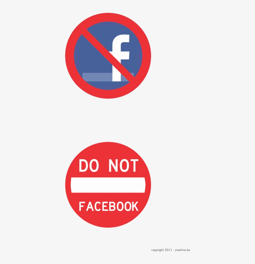 """Facebook-prohibited Sign - Lyle R5-1-12ha Traffic Sign,12 X 12in,r/wht,text,r5-1"""", transparent png #1137349"""