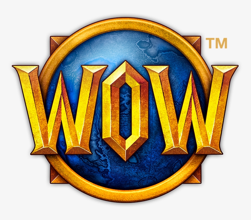 Wow Logo Png - World Of Warcraft Desktop Icon, transparent png #1137968