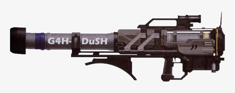G4h Dush Rocketlauncher Concept - Halo Rocket Launcher Png - Free