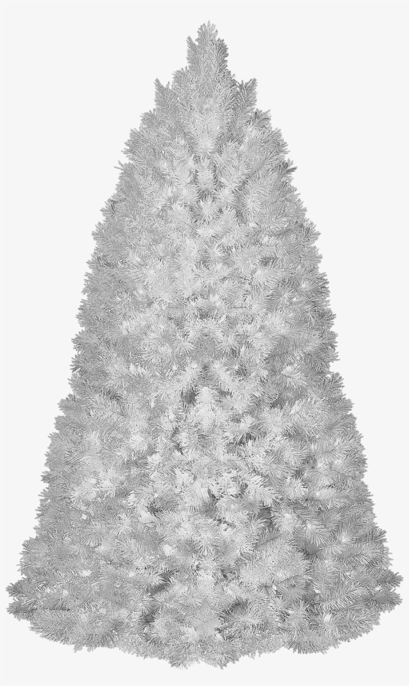 Christmas Outlet 6.5 Ft Pre-lit White Christmas Tree, transparent png #1139126