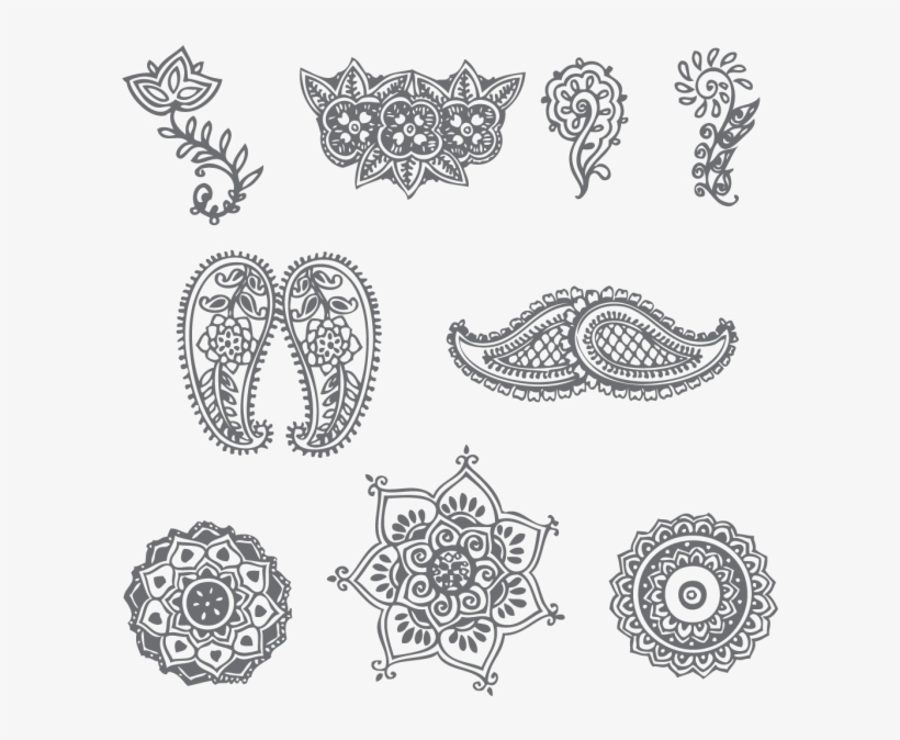Drawing Paper Henna Design Indian Mehndi Design Patterns Free
