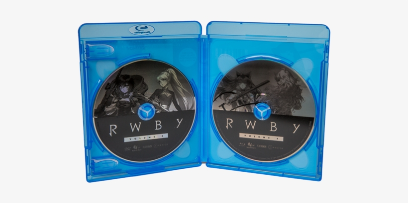 Rwby Volume 4 Blu-ray / Dvd Special Edition Combo Pack - Rwby Volume 4 Blu Ray, transparent png #1139175
