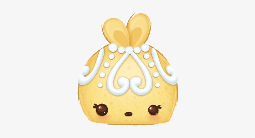 Fancy Cake Num Goldie Cake - Num Noms Fancy Cake, transparent png #1139623