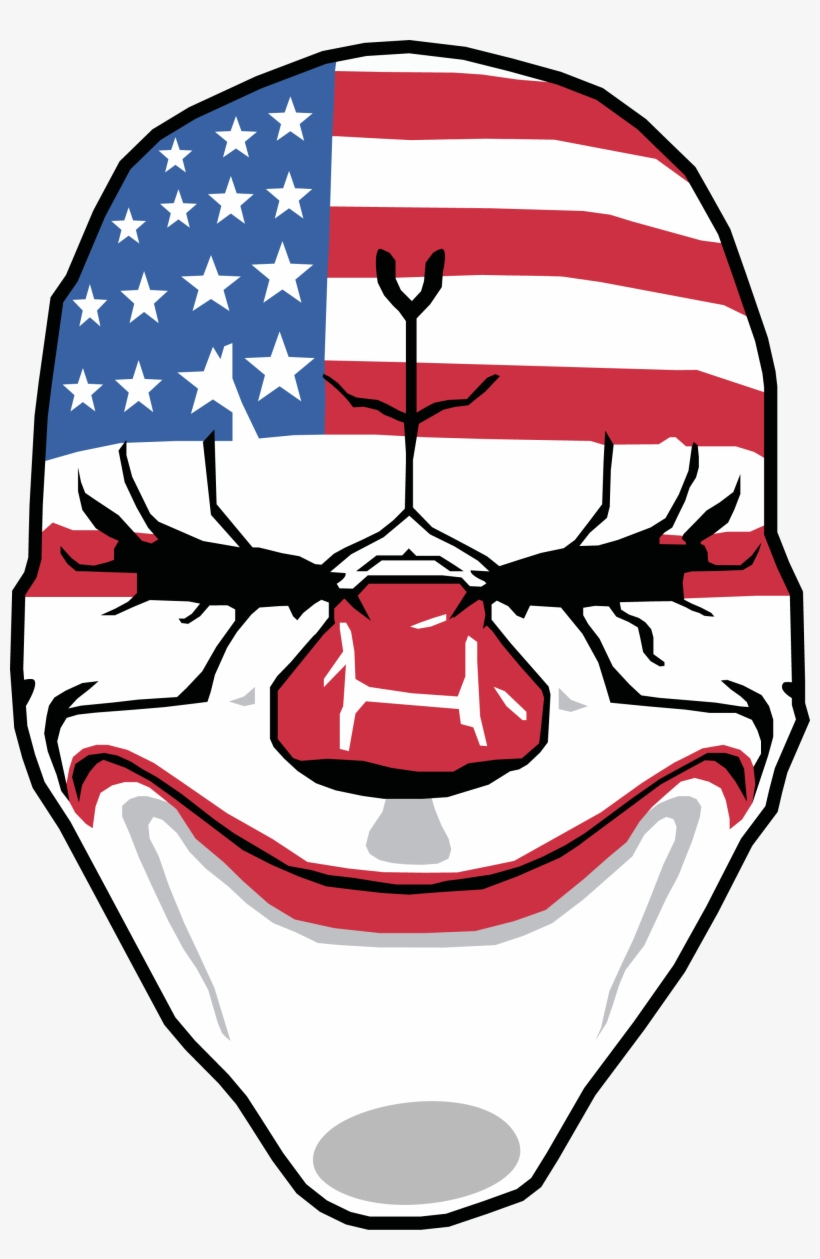 Dallas Mask - Payday 2 Mask Png - Free Transparent PNG Download - PNGkey