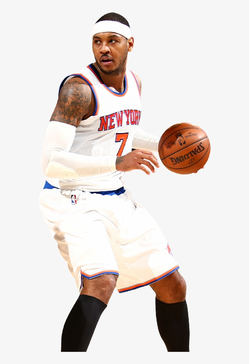 F Carmelo Anthony New York Knicks 567,348 All-star - New York Knicks Players Png, transparent png #1140641