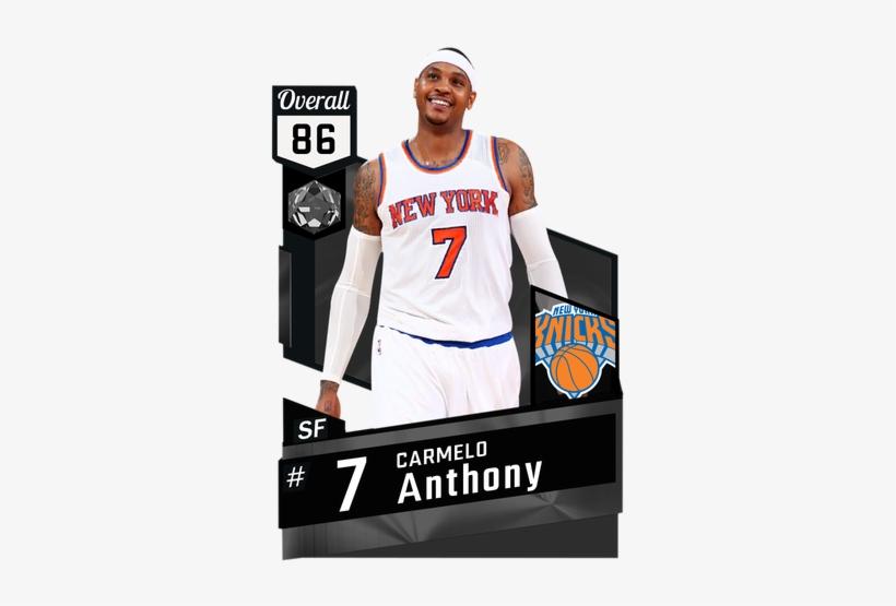 '15 Carmelo Anthony Onyx Card - New York Knicks, transparent png #1140762
