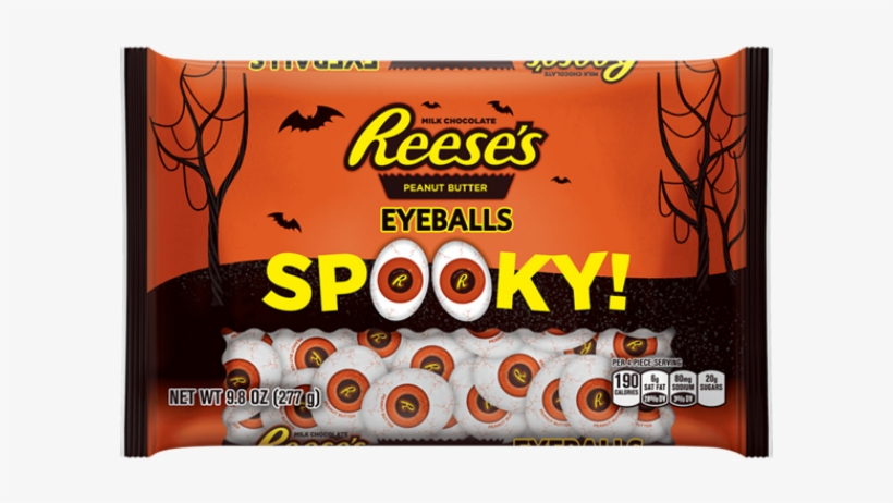 New Halloween Candy 2017 Reese's Peanut Butter Spooky - Reese's Peanut Butter Cups, transparent png #1141033