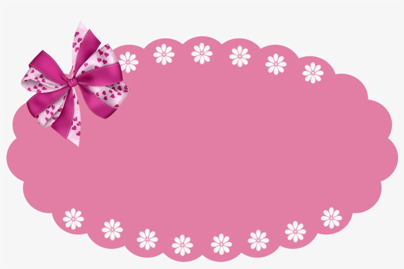 Banner Pink Png Clip Library Stock - Banner Png Rosa, transparent png #1142607