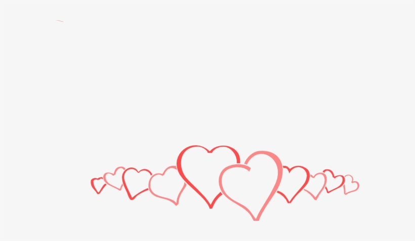 Collection Of Free Vector Heart Cluster Download On - Happy Valentine Day Friendship, transparent png #1143797