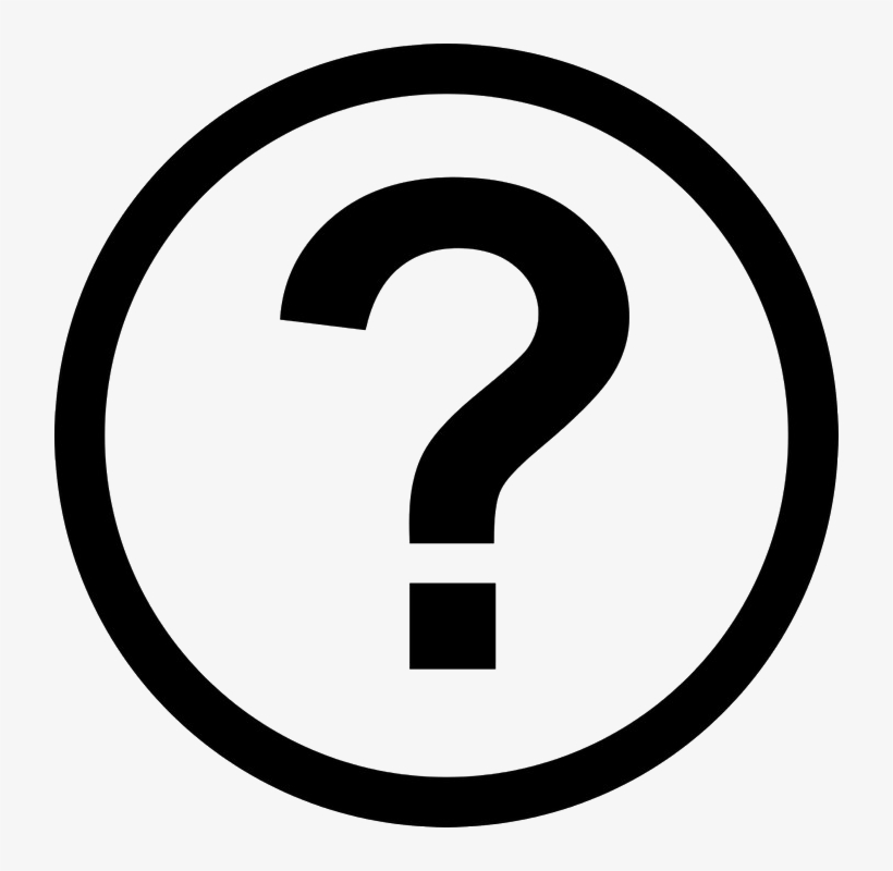 Question Mark Png Image Background - Dollar Sign In Circle