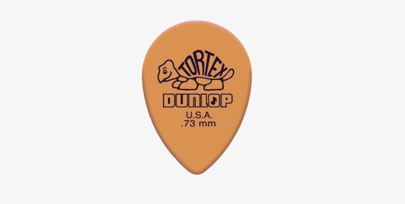 Guitar-picks - Dunlop Tortex Standard .73mm Yellow Guitar Pick - 72, transparent png #1145351