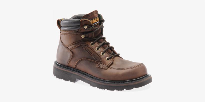 Men's 6 Steel Toe Broad Toe Work Boot, transparent png #1145596