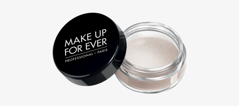 Make Up For Ever Aqua Cream Eye Color, 04 Snow, Jar - Make Up Products For Eyes, transparent png #1147570