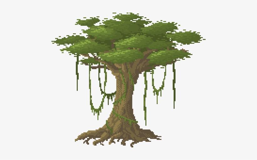 Best Of Pixel Art Tree @KoolGadgetz.com