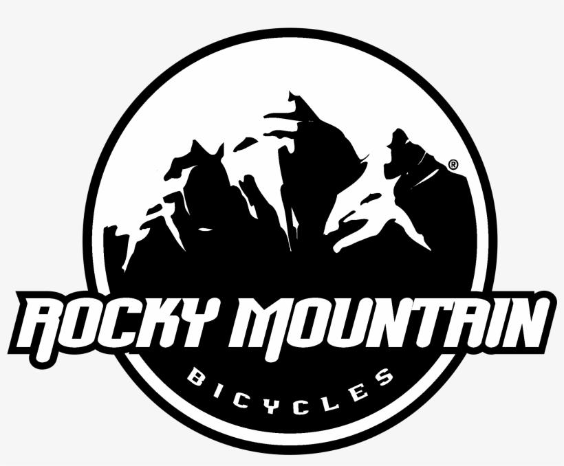 Rocky Mountain Logo Black And White - Rocky Mountain Bikes Logo, transparent png #1151614