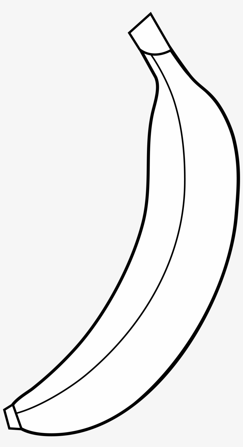 Banana Clipart 5 Image Clipartcow - Black And White ...