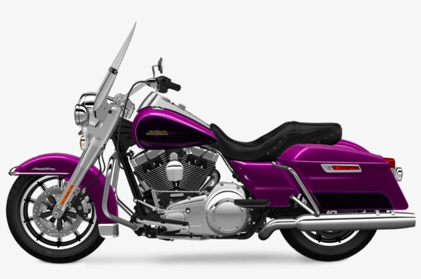 2016 Road King Purple Fire Transparent - Harley Davidson Road King Street Glide, transparent png #1153508