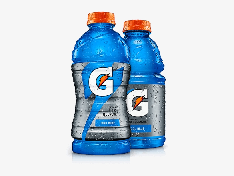 Gatorade Cool Blue - Gatorade 32 Oz Fruit Punch, transparent png #1154052