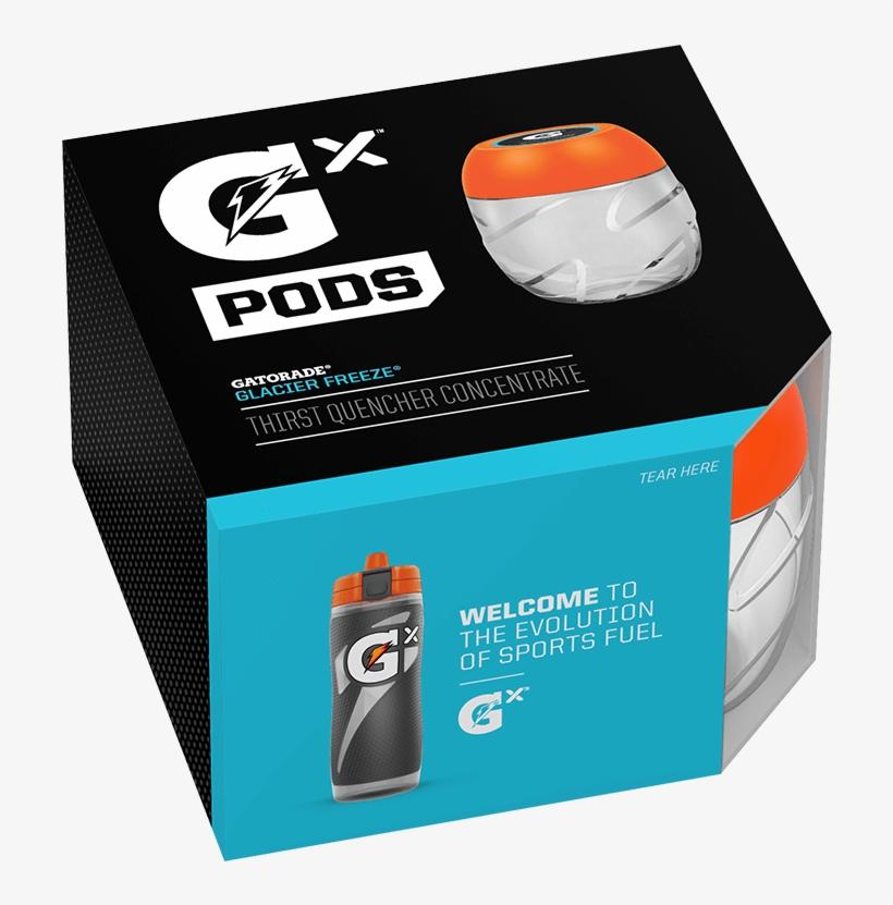 Home/gx/gx Pod Multi-pack - Gatorade Gx Early Access Code, transparent png #1154293