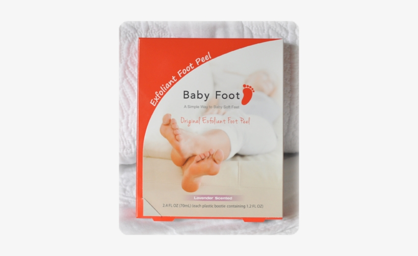Baby Foot Is An Innovative Foot Care Product That Will - Baby Feet Peel, transparent png #1155861