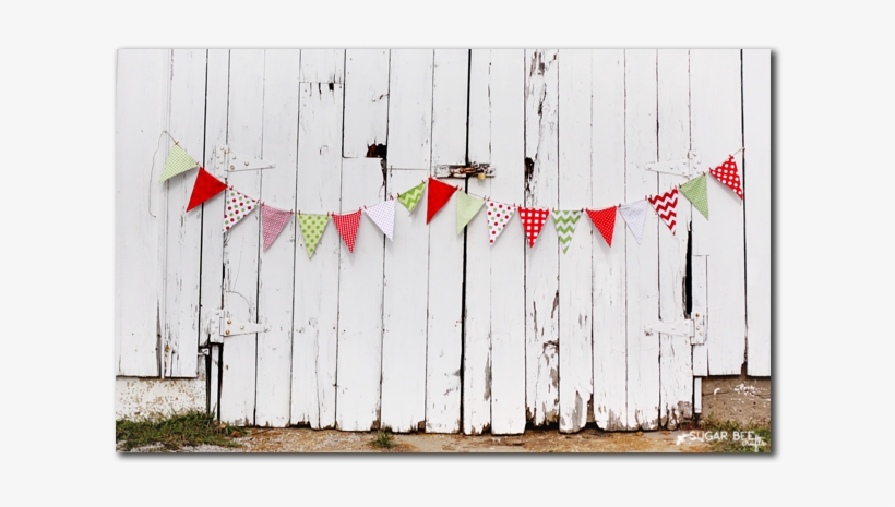 Christmas Triangle Banner - Mini Holiday Pennant Banner, transparent png #1157324