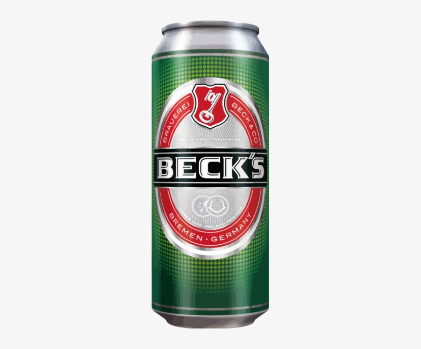 Fast Wine, Liquor And Beer Delivery - Becks Beer Can, transparent png #1158686