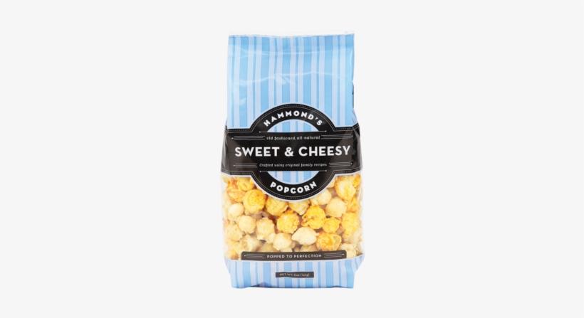 Sweet & Cheesy Popcorn - Hammonds Chicago Style Caramel Cheese Popcorn - 5 Oz, transparent png #1159853
