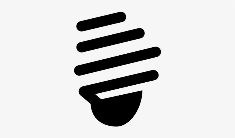 Spiral Light Bulb Vector - Incandescent Light Bulb, transparent png #1160764