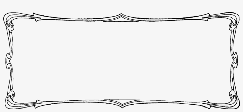 The Second Digital Border Illustration Has A Distressed, - Library, transparent png #1161866