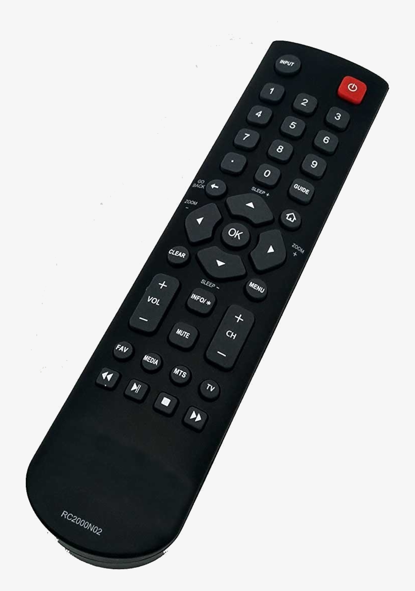 If Your Remote Does Not Have Numbers Or Does Not Look - Tcl