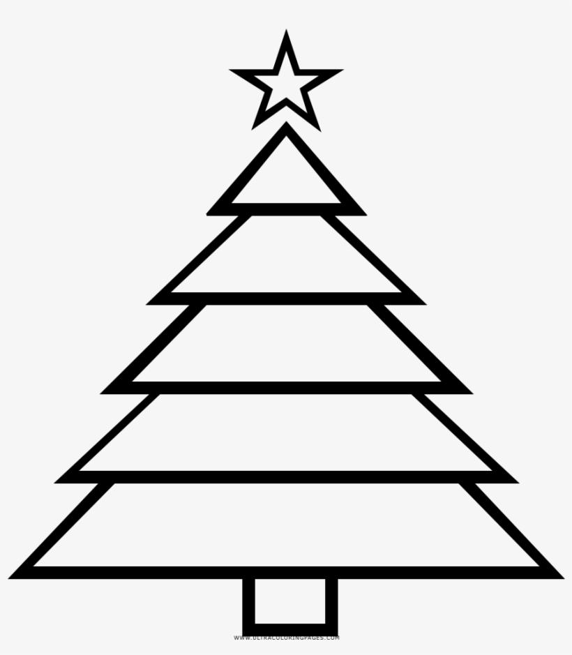 Dibujo De árbol De Navidad Para Colorear Christmas Dot To Dot Easy