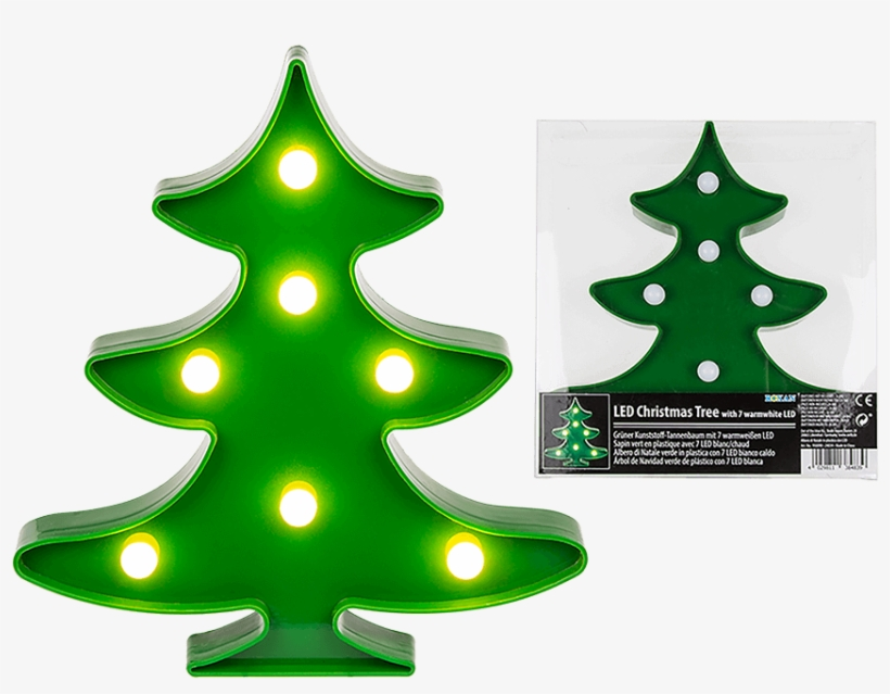 Ggc Green Led Christmas Tree Light, transparent png #1162626