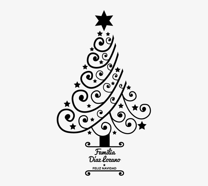 vinilo arbol navidad Vinilo Personalizable De Navidad Rbol Christmas Tree
