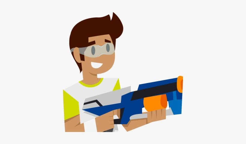 Svg Library Nerf Gun Free Download Best On Clipartmag - Clip Art