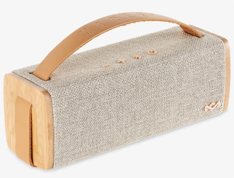 Riddim Bt Portable Bluetooth Speaker - House Of Marley Riddim Bt Portable Audio System (natural), transparent png #1164229